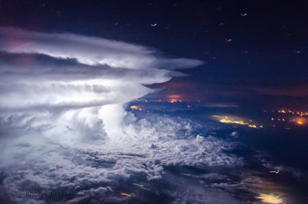 Santiago Borja Fotos Tormentas Desde Avion 12