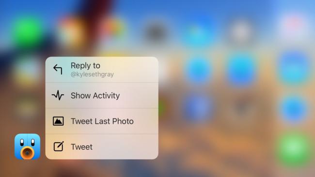 Tweetbot añade soporte a 3D Touch e incorpora finalmente el idioma español
