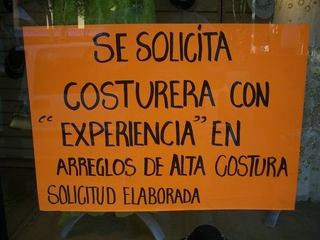 "Experiencia laboral: ¿requisito ""imprescindible""?"