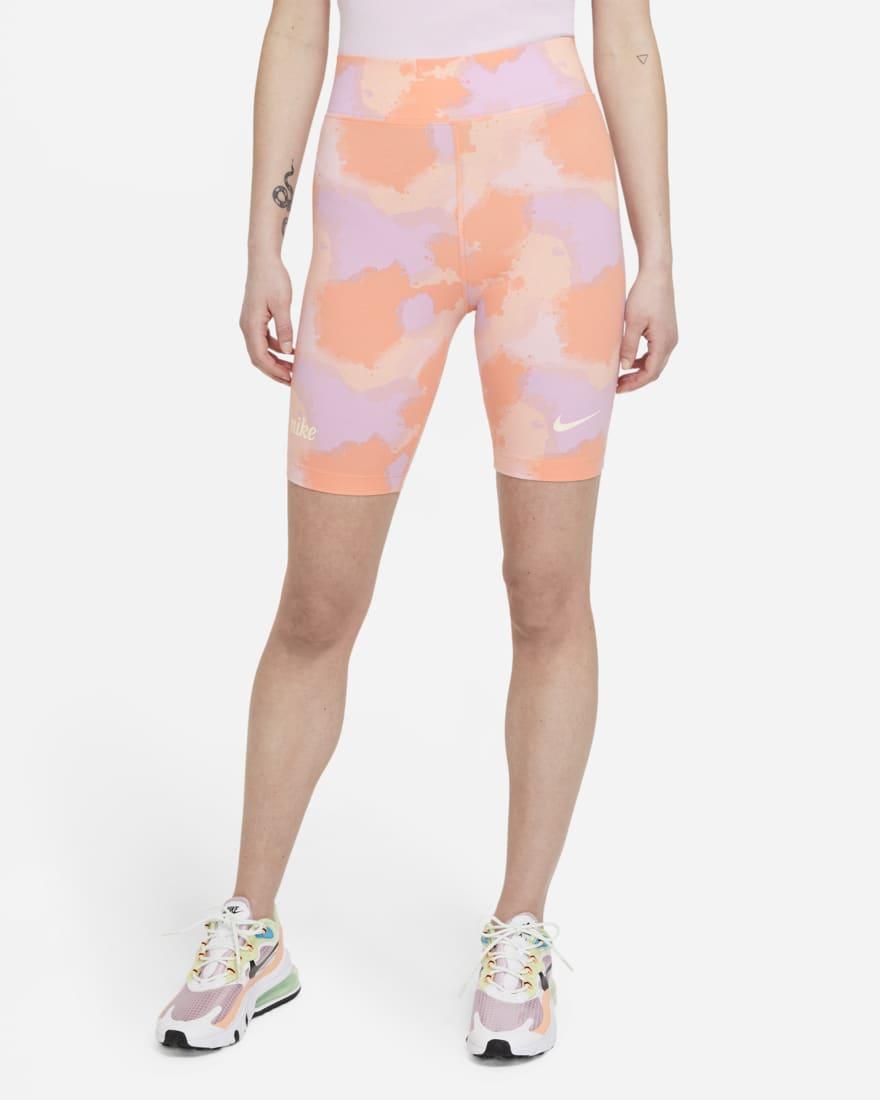 Mallas cortas de ciclismo de talle alto - Mujer - Nike Sportswear