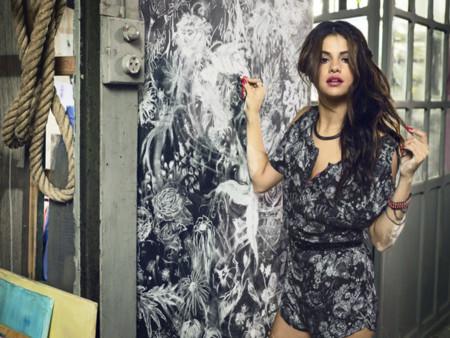 Calaveras Selena Gomez para Adidas Neo primavera-verano 2014