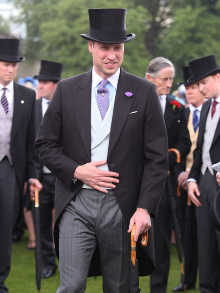 Prince William Duke Of Cambridge Attend A Garden Party At Buckingham Palace 2