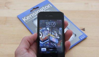 Carcasa trasera protectora para iPhone 4 de Kensington