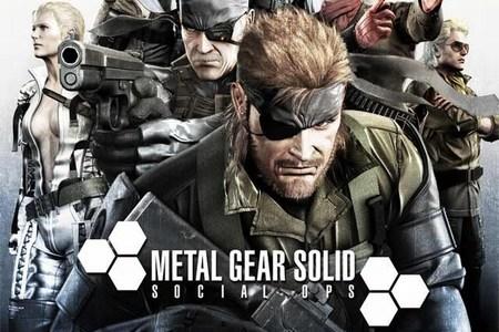 Un par de imágenes del 'Metal Gear Solid: Social Ops', nuevo juego para iOS y Android