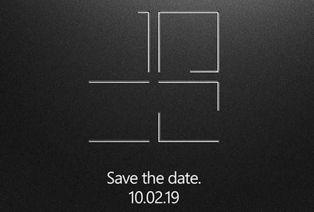 Microsoft confirma un evento centrado en Surface para el 2 de octubre y los rumores apuntan a un dispositivo de pantalla doble