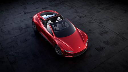 Tesla Roadster restrasado