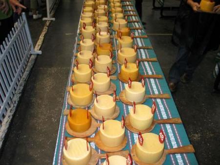 Euskal Jaiak 2008, concurso de quesos.