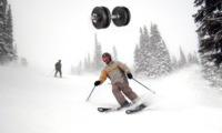 Tres ejercicios de musculación que evitarán lesiones cuando esquiemos