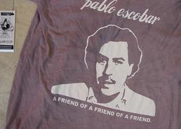 La camiseta de Pablo Escobar