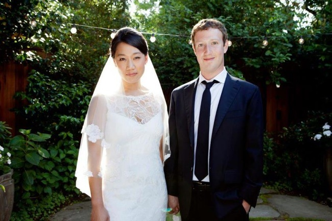Mark Zuckerberg boda