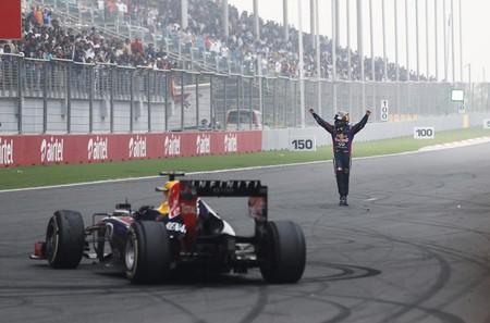 Vettel Red Bull F1 2013