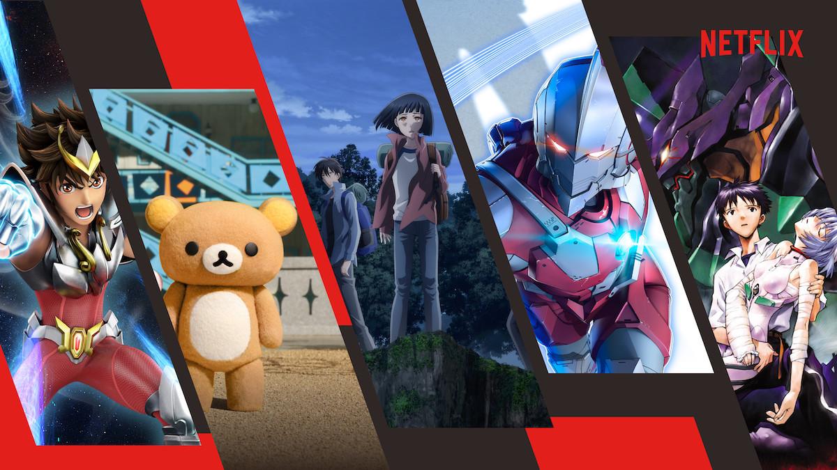 Netflix también apuesta en grande por el anime evangelion caballeros del zodiaco y ultraman son algunas de sus armas