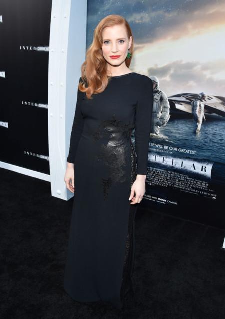 Jessica Chastain Givenchy Interstellar