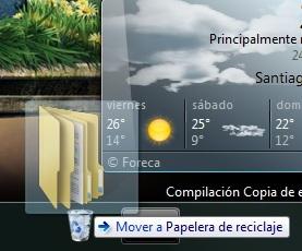 """Cómo anclar la Papelera de Reciclaje a la """"superbarra"""" de Windows 7"""