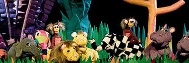Elmer y Wilbur, teatro de títeres