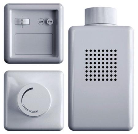 Radio para el baño