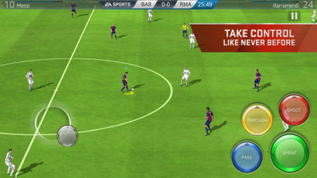 Screenshot Ea Sports Fifa App Game 2