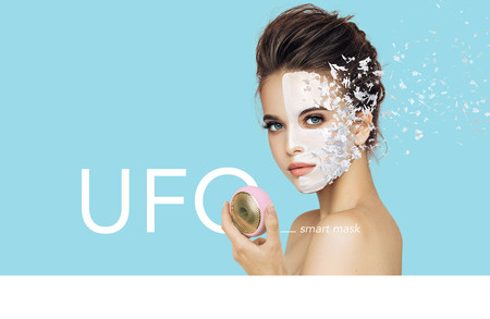 El tratamiento inteligente de mascarilla facial Foreo Ufo por 189,72 euros con el Black Friday de Amazon