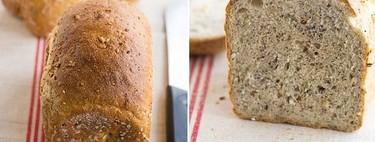 Pan de espelta multi semillas, receta