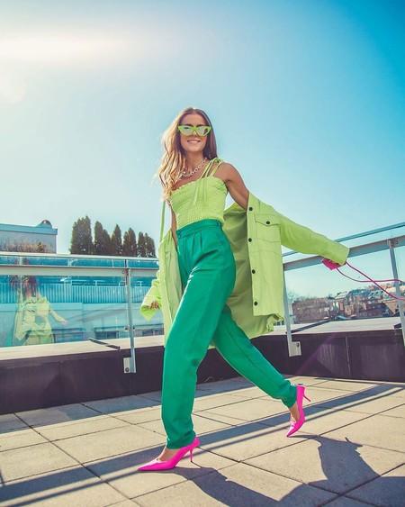 11 prendas teñidas de verde Biscay Green para refrescar nuestros looks de verano