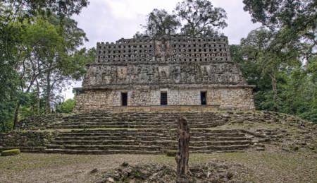 El Palacio At Yaxchilan