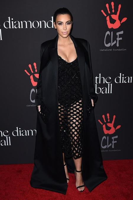 Kim Kardashian Annual Diamond Ball 2014