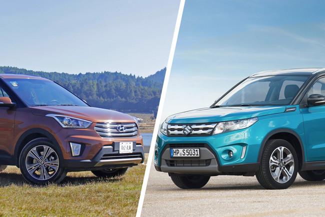 ¿Cuál me llevo? Hyundai Creta vs. Suzuki Vitara