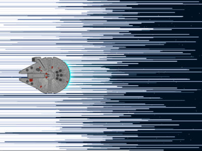 Te deseamos un feliz Día del Orgullo Friki con 123 metros de Star Wars