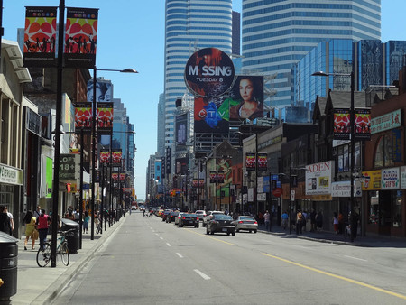 Yonge Street South Of College Street Toronto