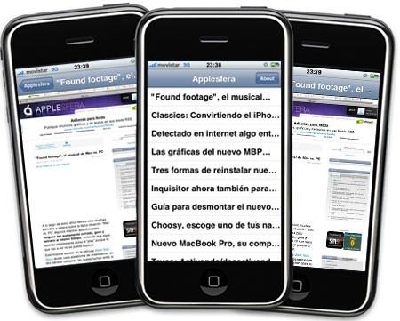 Applesfera ya cuenta con su primera aplicación en la AppStore