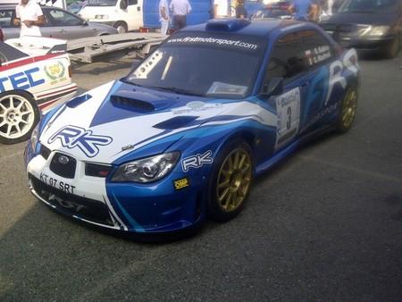 El Subaru Impreza S12B WRC de Kubica