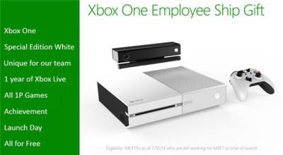 Xbox One en color blanco filtrada, ¿solo para empleados de Microsoft?