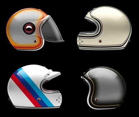 Ateliers Ruby celebra los 90 años de BMW Motorrads con los cascos estilo retro Munich 90