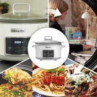 4 ofertas de Amazon en ollas lentas Crock-Pot para cocinar ahorrando tiempo y dinero