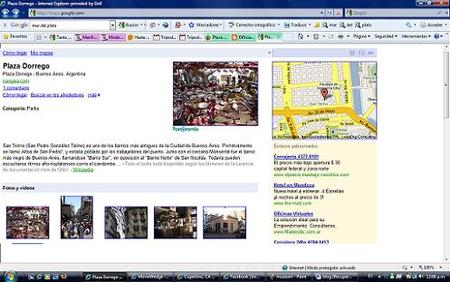 Place Pages for Google Maps, toda la información de diferentes destino