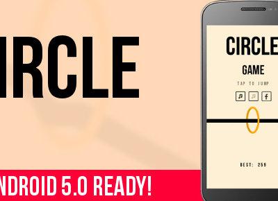 Circle, un arcade de estilo Flappy Bird con un toque curioso, divertido y muy adictivo
