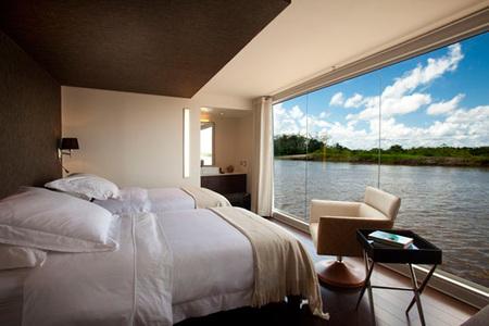 Hotel flotante - habitaciones
