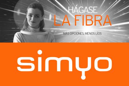 Simyo presenta su servicio de fibra desde 25,99 euros, y combinados con móvil que rebajan el precio en 7 euros