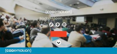 A punto de arrancar el Codemotion 2014 de Madrid