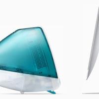 Entonces y ahora, Apple compara el nuevo iMac con el original de 1998