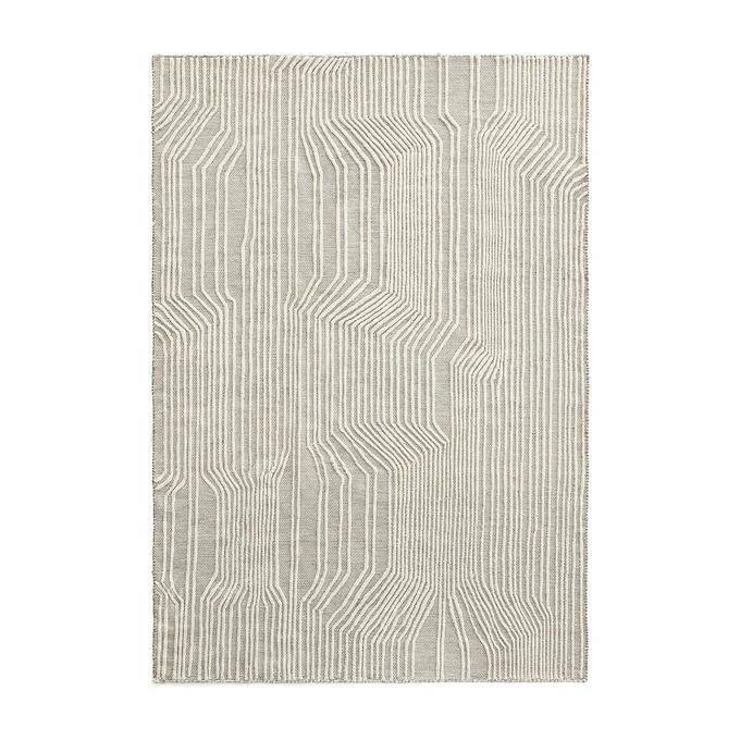 Alfombra de lana y algodón Farooka Talla 160 x 230 cm