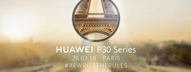 El Huawei P30 se presentará el 26 de marzo: esto es lo que sabemos de él