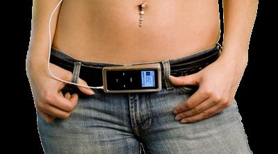 Tunebuckle, cinturón para llevar el iPod nano