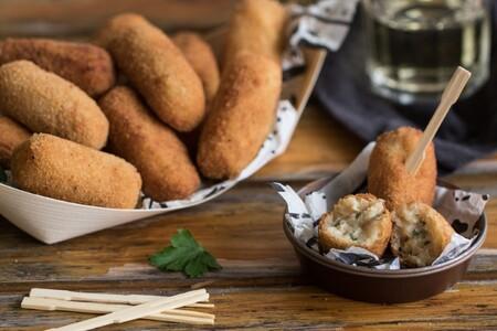 Croquetas de bacalao y patata, el mejor sabor en un solo bocado