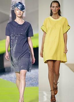 Tendencia de temporada: t-shirt dress