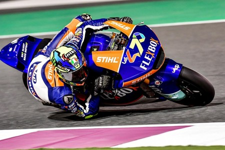 Baldasarri sorprende en Catar y se cuela entre los favoritos en los entrenamientos libres de Moto2