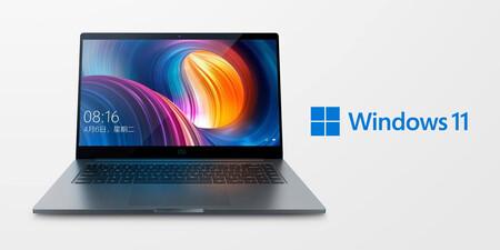 Xiaomi anuncia la llegada de Windows 11 hasta en 15 ordenadores compatibles de forma oficial