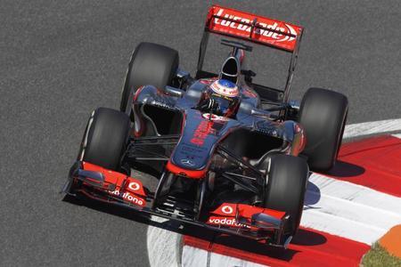 McLaren está perdida en mitad del desierto