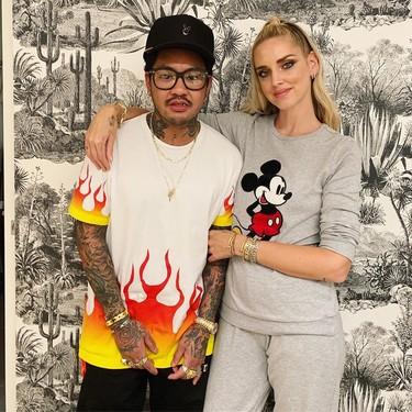 Este es el nuevo tatuaje de Chiara Ferragni firmado por Jon Boy