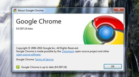 Chrome actualiza el canal beta con Instant integrado, Flash en la sandbox y WebGL